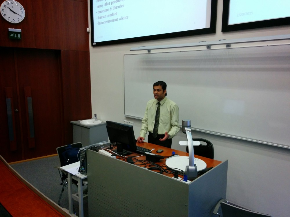 Graduate: Successful defense of master thesis