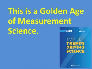 This is a Golden Age of Measurement Science